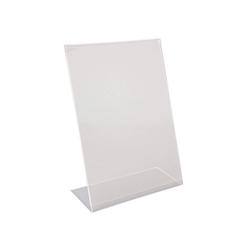Porta menù A4 in plexiglass cm 30x21