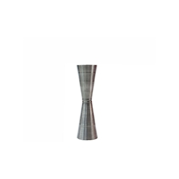 Misurino Jigger Slim in acciaio inox rigato opaco made in Italy