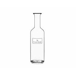Bottiglia Vino Fine Wine Optima Bormioli Luigi In Vetro Lt 1