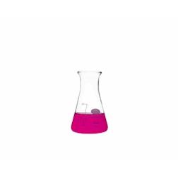 Ampolla conica graduata Academy in vetro borosilicato cl 5