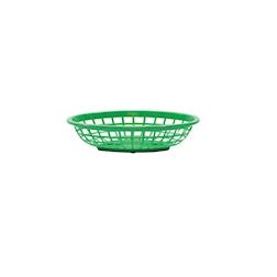 Porta pane tondo in polipropilene verde cm 20