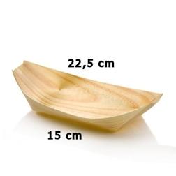 Mini barchetta in legno abete cm 22,5 x 11