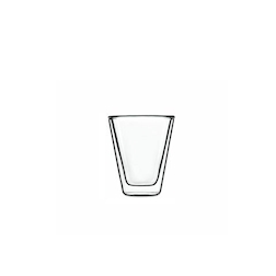 Tazza caffè Caffeino termica Luigi Bormioli in vetro cl 8,5