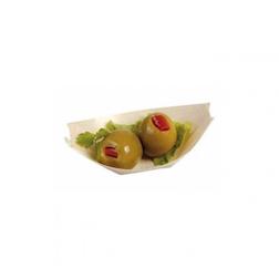 Mini barchetta in legno abete cm 6,5x4,7