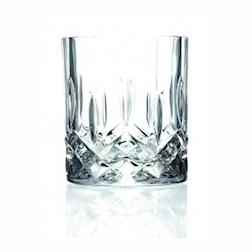 Bicchiere RCR Opera tumbler in cristallo lavorato cl 30