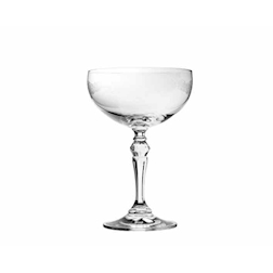 Coppa champagne Filigree in vetro cl 26