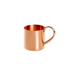 Bicchiere cocktail Moscow Mule in rame senza marchio cl 40