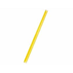 Cannuccia drinking straw plastica cm 21 giallo