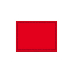 Tovaglietta in airlaid rosso cm 30x40