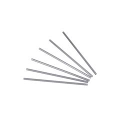 Cannuccia drinking straw plastica cm 21 argento