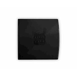 """Porta Menù Glossy quadro""""Menù"""" In plastica nera Cm 23,6x23"""