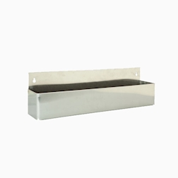 Portabottiglie speedrack in acciaio inox cm 107