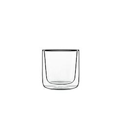 Bicchiere termico Cilindrico Bormioli Luigi in vetro cl 24