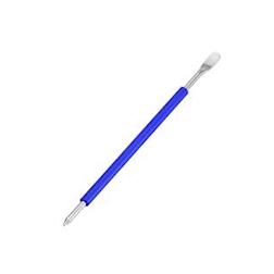 Penna decora latte con manico blu in acciaio inox 18.10