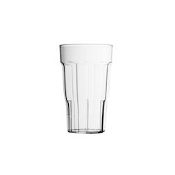 Bicchiere polipropilene Mix trasparente cl 35