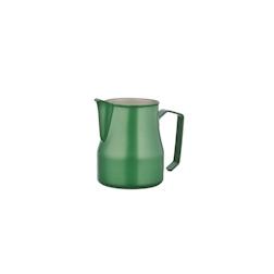 Lattiera Motta in acciaio inox verde cl 50