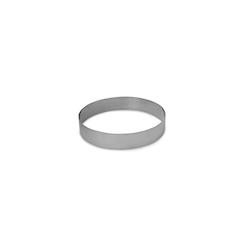 Anello per impiattare in acciaio inox cm 8x3,5