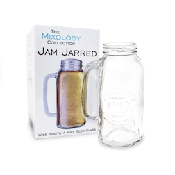 Bicchiere barattolo Jam Mixology collection lt 2
