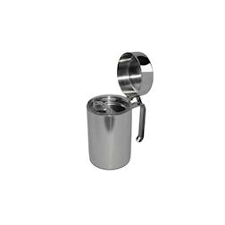 Oliera con dosatore in acciaio inox cl 50