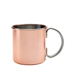 Boccale cocktail Moscow Mule Mezclar in rame e acciaio inox cl 50