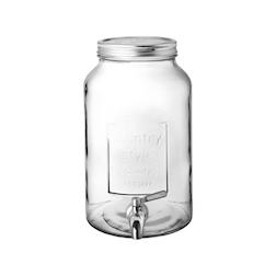 Vaso country Punch barrel in vetro lt 6
