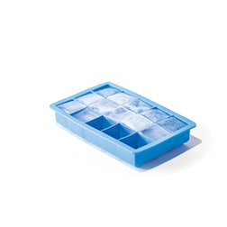 Stampo ghiaccio 15 impronte in silicone blu