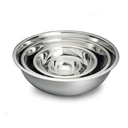 Bowl semisferica in acciaio inox cm 20x6