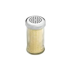 Spargi formaggio e granella in policarbonato con tappo cromato cl 36