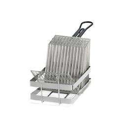 Cestello per friggere tacos in acciaio inox