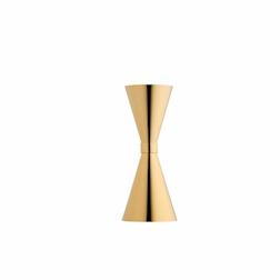 Jigger Mr Slim in acciaio inox dorato cl 3-6