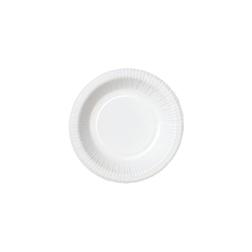Piatto fondo monouso Duni in carta bianca cm 18