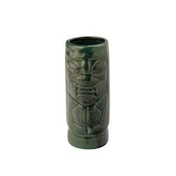 Tiki Mug Aztec in ceramica verde cl 45