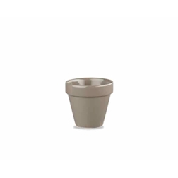 Vasetto Pebble Churchill in terracotta grigio cl 5,7
