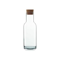 Bottiglia Sublime Luigo Bormioli in vetro con tappo in sughero lt 1