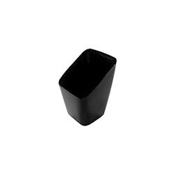 Coppetta butler in polistirene nero cl 5