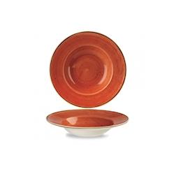 Pasta Bowl Stonecast Churchill in ceramica vetrificata arancio cm 28