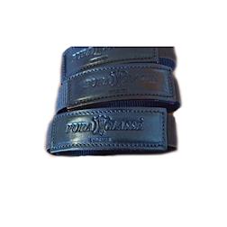Armbands Puraclasse in elastico e pelle nera
