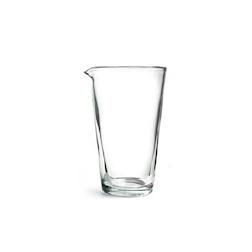 Mixing glass liscio in vetro cl 70
