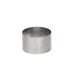 Stampo tondo De Buyer in acciaio inox cm 12x8
