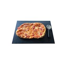 Tagliere a servire buffet in pbt effetto pietra cm 45x30