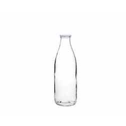 Bottiglia Milk in vetro trasparente lt 1
