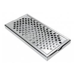 Bar mat con griglia in acciaio inox cm 30,5x15x5