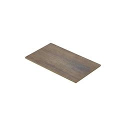 Vassoio rettangolare in melamina effetto legno cm 26,5x16,5
