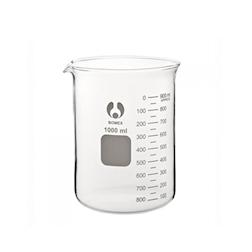 Contenitore Beaker in vetro bomex graduato lt 1