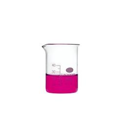 Contenitore Beaker in vetro bomex graduato cl 5