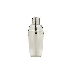 Shaker Cobbler in acciaio inox vetro cl 50