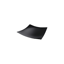 Piatti Sfera monouso in plastica nera cm 13x13