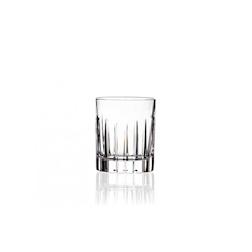 Bicchiere RCR Timeless in vetro lavorato cl 7,8