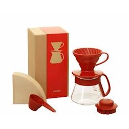 Set caffè americano Red Hario rosso cl 40
