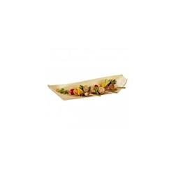 Barchette monouso in legno cm 32